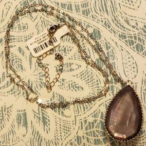 torrid Jewelry - NWT SILVER-TONE REVERSIBLE TEARDROP NECKLACE